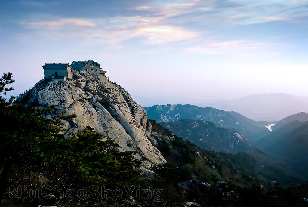 新县泗店乡农村风景